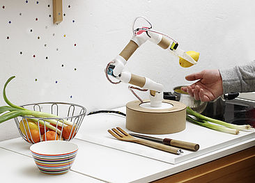"Der Do-it-yourself-Roboterarm ""Rohrbot"""