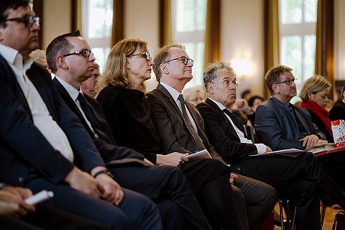 Klaus Semlinger im Publikum
