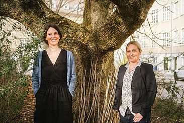 Johanna Backes und Anett Geithner von HTW-Integra