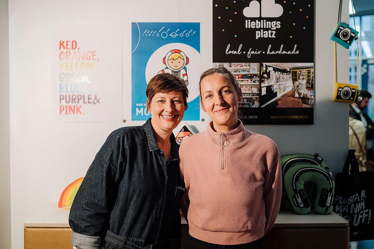 Janine Sommer und Anja Pilzner