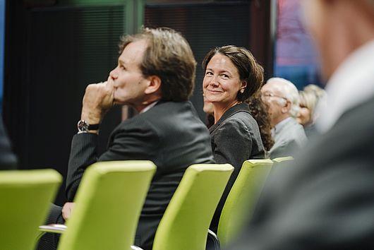 HWR-Kanzlerin Sandra Westerburg im Publikum