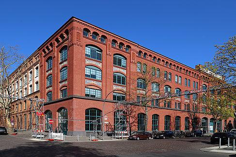 Ansicht der früheren AEG-Apparatefabrik