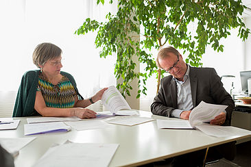 Sünne Andresen und Klaus Semlinger