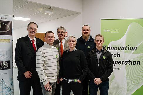 Das Projektteam der HTW Berlin © HTW Berlin/Alexander Rentsch