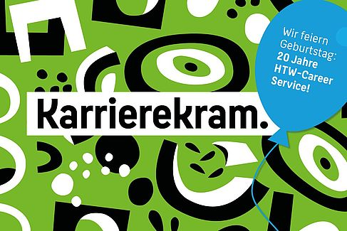 Wort-Bild-Marke 20 Jahre Career Service