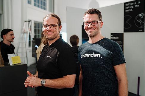 Dennis Kluge und Swen Hutop