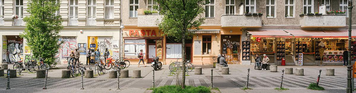 Häuserzeile in Berlin