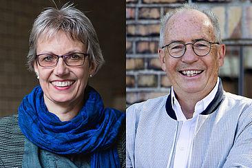 Prof. Dr. Dorothee Haffner und Prof. Joseph Hoppe