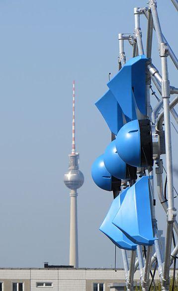 Modulare Windanlage