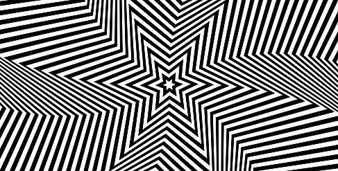 Schwarz-Weiß-Muster