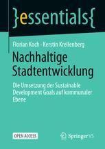 """Das Titelblatt der Publikation """"Nachhaltige Stadtentwicklung"""""""